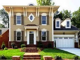 Green Exterior Paint Ideas - excellent rustic house paint colors photos best idea home design
