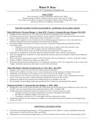 sample resume for marketing coordinator brian d ross resume 4 9 2015