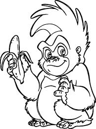 trek banana coloring page wecoloringpage