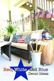 Red White And Blue Home Decor Red White And Blue Americana Decor Refresh Restyle