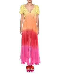 ombre dress silk ombre dress neiman