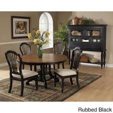 ronan extension table and chairs leahlyn 5 piece round dining table set by signature design by ashley