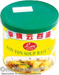 bases cuisine brand wonton soup base mix powder 李牌云吞汤