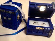 doctor who wedding ring starry wedding ring box handmade tardis engagement ring box