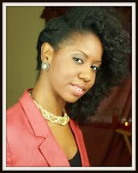 flat twist with big hair to the side on natural hair youtube
