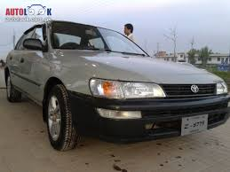 1996 toyota corolla manual 4 door saloon cng car for sale