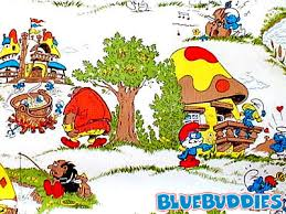 smurfs the lost village wallpapers smurf wallpaper smurf village wallpaper smurfs gallery