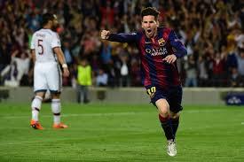 Lionel Messi Leg Barcelona Beats Bayern Munich 3 0 As Lionel Messi Lights Up