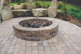 How To Build A Stone Firepit by Fire Pits Mutual Materials