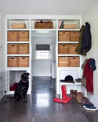 Dog Crate Furniture Bench Transitional Dog Crates Entry Transitional With Built In Dog Room