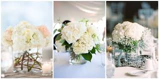 simple center pieces 21 simple yet rustic diy hydrangea wedding centerpieces ideas