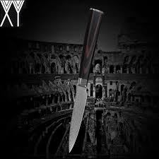 xy vg10 damascus knives 3 5 inch fruit paring knife eco friendly