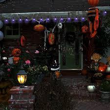 amazon com solar string light halloween indoor outdoor decorative