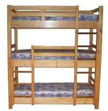 Triple Bunk Beds Triple Sleeper Bed Three Sleeper Bunk - Triple bunk beds with mattress