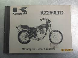 1979 1980 kawasaki kz250ltd motorcycle owner u0027s operator u0027s manual