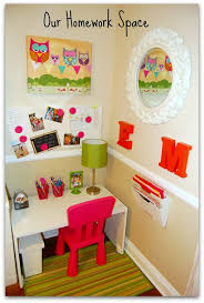 kids homework station get ahead of school assignments with these cute homework station