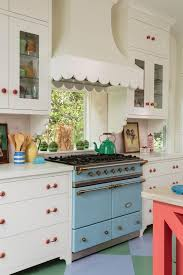 california kitchen design see how this california cottage squeezes color into every room