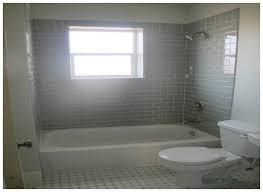 Gray Subway Tile Bathroom by 27 Phenomenal Grey Bathroom Tiles Photo Inspirations Yoyh Org