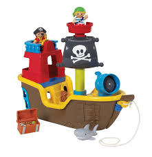 Pirate Ship Toddler Bed Pull Along Musical Pirate Ship Growing Your Baby