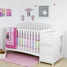 Convertible Crib And Changer 5 In 1 Side Convertible Crib Changer Nursery Furniture Baby