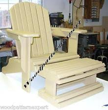 Build An Adirondack Chair Adirondack Chair Plans Ebay