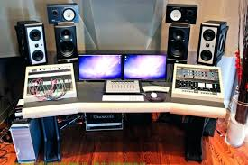 Diy Recording Desk Desk Studio Desk Pdf Woodwork Recording Desk