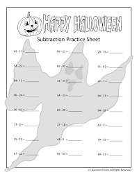 halloween addition and subtraction worksheets woo jr kids
