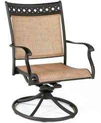 closeout vintage cast aluminum outdoor swivel rocker furniture