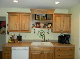 Kitchen Cabinets Before And After Cabinet Garland For Above Kitchen Cabinets Decorating Above
