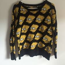 bart sweater 67 outfitters sweaters moschino inspired bart