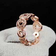 girls golden rings images Geometric figure cubic zirconia rings 18k golden ring cubic jpg