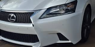 lexus gs350 f sport car and driver front lip fits 13 15 lexus gs350 f sport bumper only clublexus