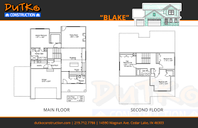 construction floor plans floorplans dutko construction inc