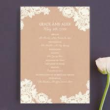 unique wedding programs 50 most unique programs for weddings photos emmaline