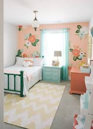 kids space with design loves details painted wallpaper nest and