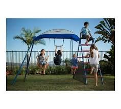 Kids Backyard Play Set by Climber Uv Sunshade Outdoor Swing Set Playground Kids Backyard