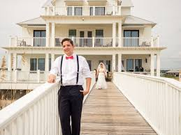 Cheap Beach House Rentals In Galveston by Private Beach House Wedding U0026 Reception U2014 Sand Dollar Beach