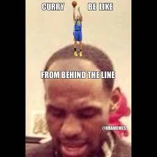 Lebron James Hairline Meme - steph curry shoots the 3 ball behind lebron james hairline flickr