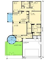 Mediterranean House Plans With Courtyard 36 Best Spanish Or Mediterranean House Images On Pinterest