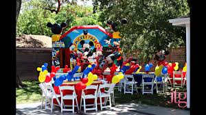 mickey and minnie halloween decorations awesome mickey mouse themed party decor youtube