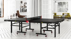 killerspin myt10 black pocket ping pong table