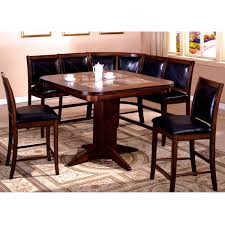 pub table with bench seat dining table corner bench style dining