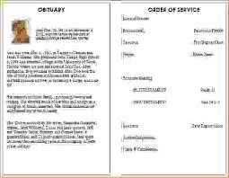 Funeral Pamphlet Ideas 12 Funeral Program Examplesagenda Template Sample Agenda
