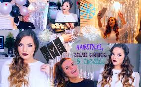hairstyles for selfies 3 easy hairstyles for new years eve diy selfie station treats