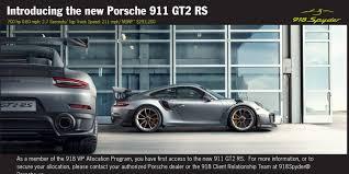 911 gt2 rs 918 spyder vip program pdf docdroid