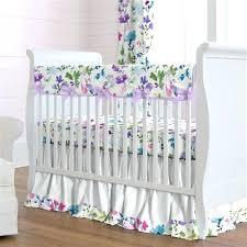 Solid Pink Crib Bedding Solid Pink Crib Bedding A Wildflower Garden Cheap Baby Canada Sets