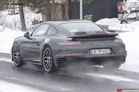 new porsche 911 interior fresh porsche 911 turbo s facelift spy shots reveal updated