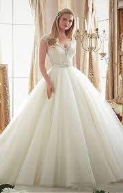 tulle ball dress sprinkled with crystal beading morilee bridal