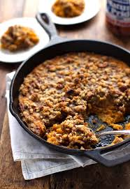 sweet potato casserole with brown sugar topping recipe easy
