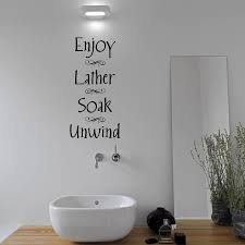 splish splash bathroom wall lettering quote aijographics bathroom wall sticker summer sale